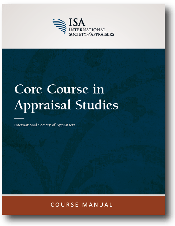Course Materials - Education - International Society Of Appraisers