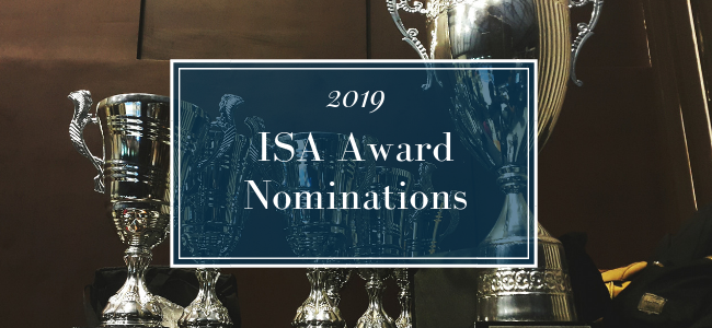 2019 ISA Award Nominations